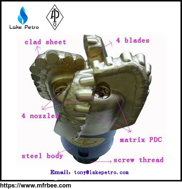 fast_drilling_water_well_pdc_drilling_bits_with_pdc_cutters