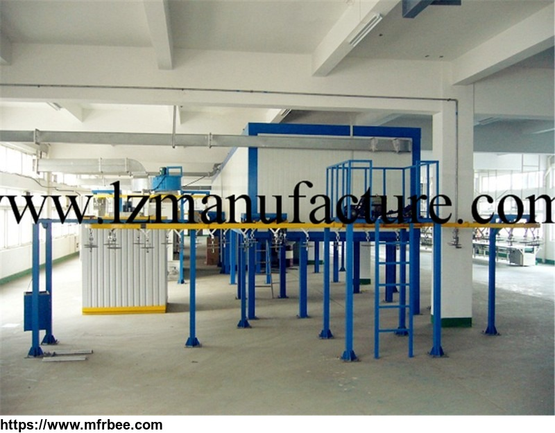 electrostatic_powder_coating_line_spray_booth_oven