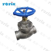 YOYIK stainless steel globe throttle check valve (flange) 50LJC-1.6P