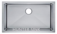 32 Inch Stainless Steel Undermount Single Bowl Kitchen Sink