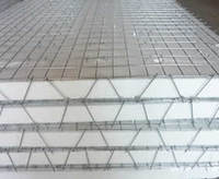 3D panel wall structure and 3D panel wall system construction