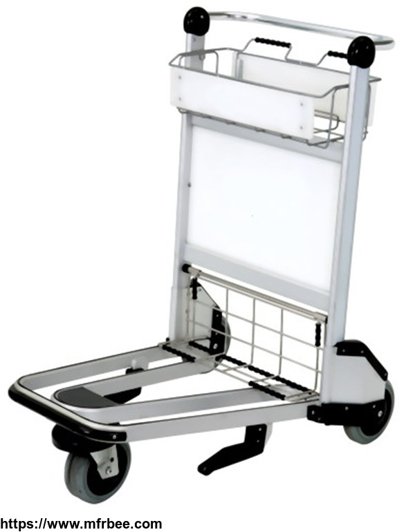 X320-LG4 Airport luggage cart/baggage cart/luggage trolley