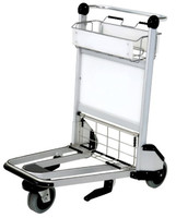 more images of X320-LG4 Airport luggage cart/baggage cart/luggage trolley