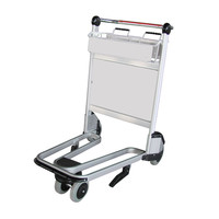 X420-LG8 Airport trolley/cart/luggage trolley/baggage trolley