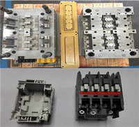 Precision / engineering plastic / Needle valve gated hot runner design and mold manufacturer in contactor