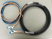 hybrid cable, armored fiber cable, armored fiber patch cord,
