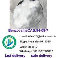 Benzocain cas 94 09 7  API bulk stock raw material china factory high quality best price