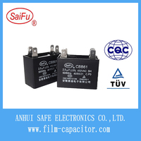 CBB61 AC Electric Fan Capacitor