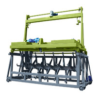 Cow manure straw fermentation groove type compost turner machine fermentation equipment