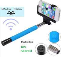 selfie stick with bluetooth  handle monopod for mobile phone smartphone monopod