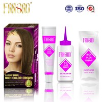 FANGAO Shiny Moisturizing Natural Looking Hair Color Cream