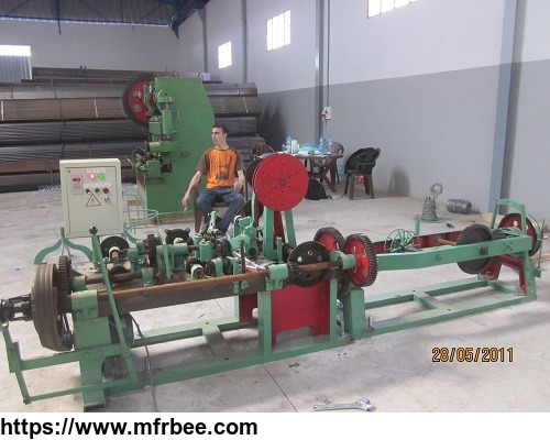 high_quality_low_price_barbed_wire_making_machine_supplier_manufacturer