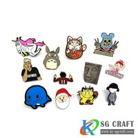 Soft enamel pin custom badges all fashion design lapel pins