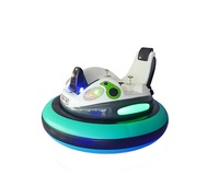 Playground Inflatable Bumper Car in Spaceship Shape