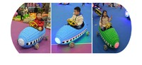 Shopping Mall Battery Car Amusement Kiddie Electric Racing Car
