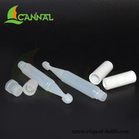 Ecannal hot selling pocket-sized 2ml mini dropper bottles