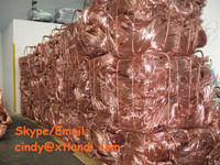 Copper scrap wire 99.9% China supplier skype :live:cindy_9973copper millberry 99.9%