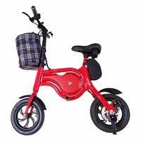 Electric Bike, Foldable Electric Bicycle with Lithium Battery