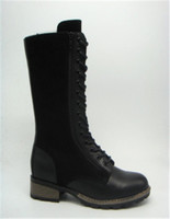 fashion lady boots with special zipper design (CAD10026H, BRAND: CARE)