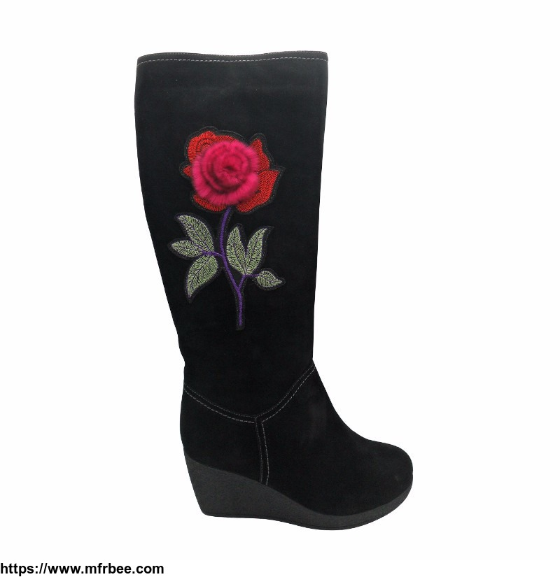 top_boot_with_flower_ornament_ginette_brand_care_