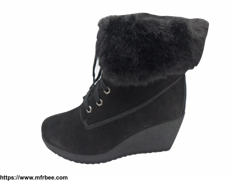 fashionable_lady_boots_with_waterproof_suede_gilda_brand_care_