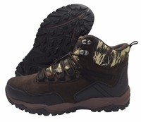 High cut outdoor shoe with camouflage fabric(CAR-73052, BRAND: CARE)