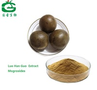 Natural Luo Han Guo Extract Powder with Low Calorie Mogrosides  80%