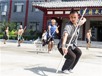 Experience and Review of International Kung Fu Students training in China