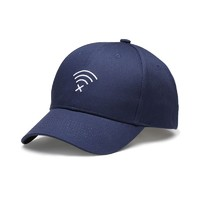 Customizable New Unique 100%Cotton Embroidered No WIFI Symbol Sport Baseball Caps Gorras