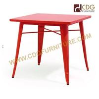 Metal Dining Table with prowder Coating