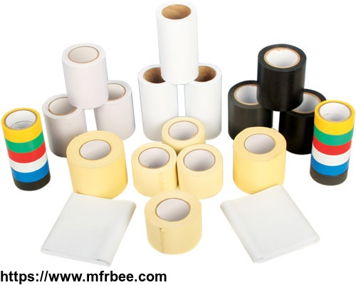 NON-Adhesive&adhesive AIR CONDITIONER PVC tape and Adhesive Aluminum foil tape