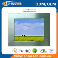 10.4 inch industrial panel mount touchscreen LCD monitor