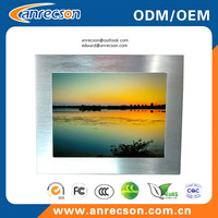 19 inch industrial embedded mount touch LCD monitor with HDMI input