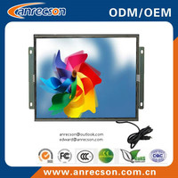 17 inch open frame LCD monitor with resistive/capacitive/SAW/IR touchscreen