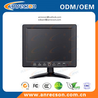 Commercial portable mini 8 inch CCTV monitor
