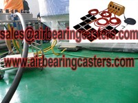 Air bearing movers air pallets details