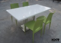 more images of Customized Artificial Marble Chairs And Tables For Cafe