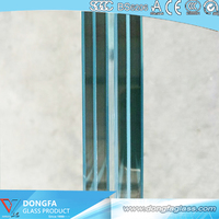 Sgp Laminated Glass 13.52mm Clear Tempered Laminated Balustrade Glass with Ce Certification