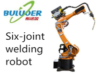 6 axis welding robot arm robotic welding machine for sale