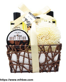 Father's Day Spa Gift sets bath and body personal care shower gel/Bubble Bath/Body Lotion/Body Scrub