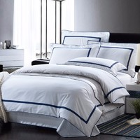 high top selling cheap 100%cotton used hotel bedding