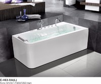 Newest special design Bathtub and Free standing bath for shower room
