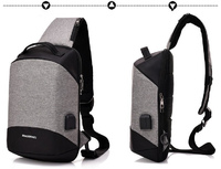 more images of Sling Bag Shoulder Chest Cross Body Backpack Lightweight Casual Daypack