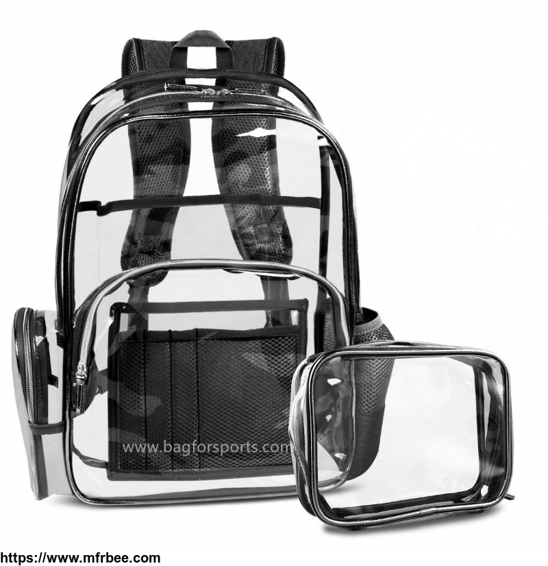 clear_backpack_with_cosmetic_bag_multi_pockets_clear_transparent_pvc_school_backpack_casual_backpack_with_comfortable_shoulder_straps_fits_15_6_laptop_for_women_and_men_black_