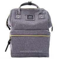"Travel Backpack Large Diaper Bag School multi-function Backpack for Women&Men 11""x16""x6.3""(Gray)"