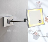 Hot sale Metal Wall Mounted Make up Mirror