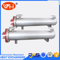 High Quality titanium Tube Heat Exchanger Aquaculture,Shell and Tube Titanium Heat Exchanger