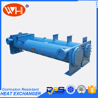 Top Quality double temperature water chiller condenser type for xcmg spares parts