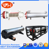 150 ton shell & tube heat exchanger Shell and Tube Titanium Heat Exchanger