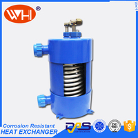 ISO Certification fish tank water heat exchanger coils of cooling coil stainless steel